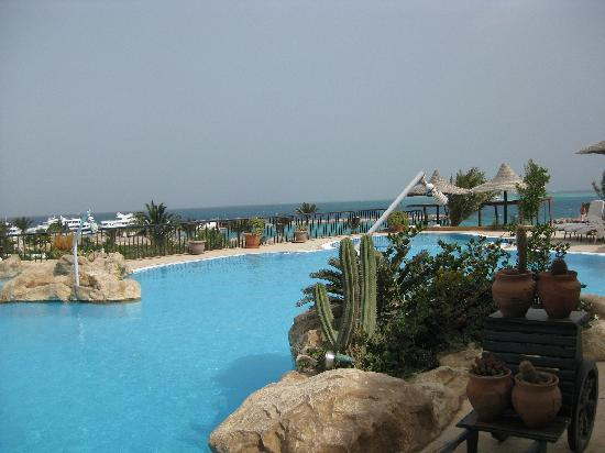 Jewels Sahara Boutique Resort: la piscine, jolie mais froide