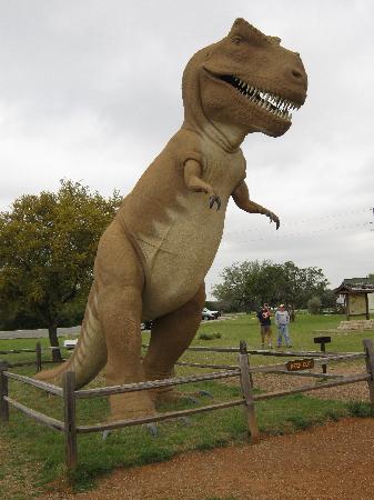 Dinosaur Valley State Park: Dinosaur