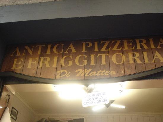 Antica Pizzeria e Friggitoria Di Matteo: Antica Pizzaria Di Matteo