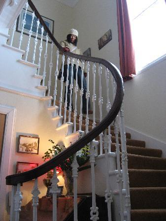 The Wing, Bed and Breakfast: Stairway The Wing