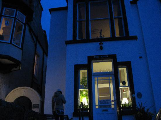 The Wing, Bed and Breakfast: The Wing at night