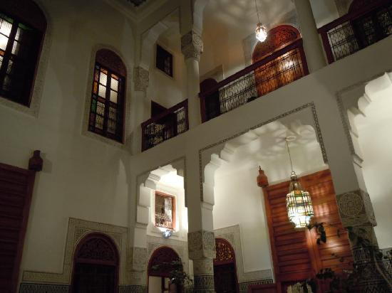 Dar Al Safadi : le patio