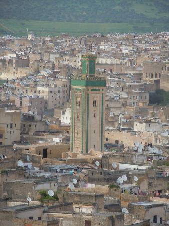 Dar Al Safadi : vue de la terrasse