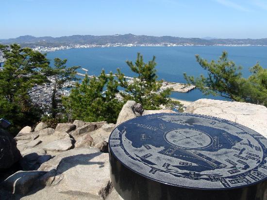 Kurashiki, Japan: Looking over the Seto Sea