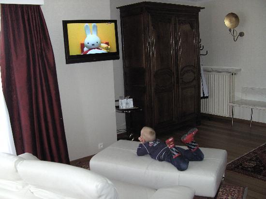 Hotel Donny: le confort tout cuir même pour les plus jeunes