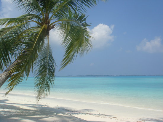 Villingili: the amazing beach