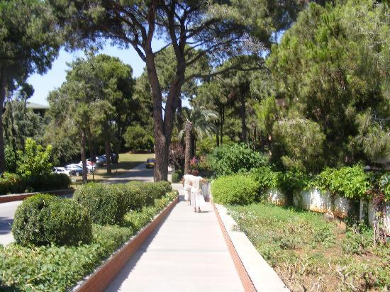 Papillon Zeugma Relaxury: garden