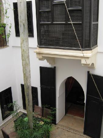 Riad ALAMANDA : The internal courtyard