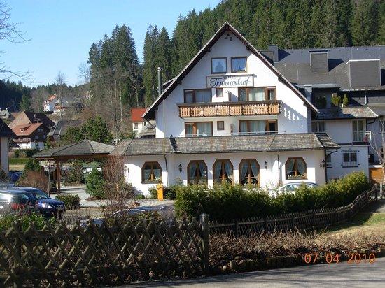Thomahof: L'hôtel de l'exterieur