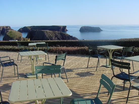le restaurant et la vue sur mer photo de le grand large. Black Bedroom Furniture Sets. Home Design Ideas