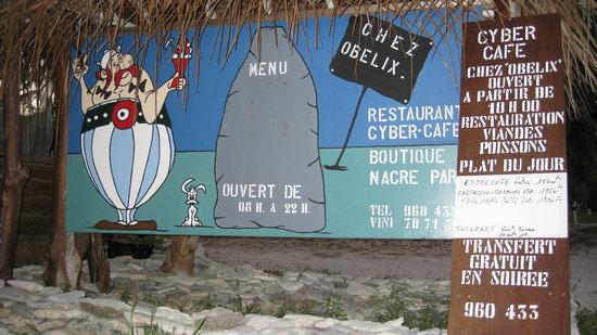 Cafe Obelix: Chez Obelix