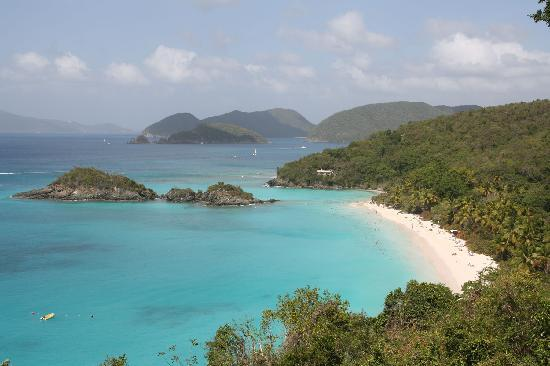Estate Lindholm: Trunk Bay dall'alto