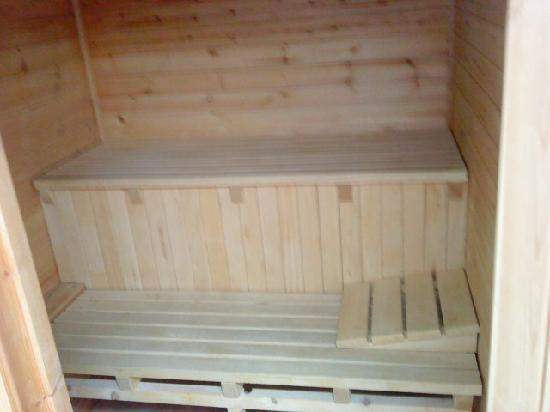 Tilford Woods Lodge Retreat: private sauna