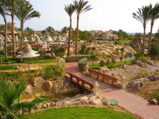 Radisson Blu Resort, Sharm El Sheikh: jardin