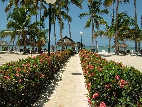 Grand Bahia Principe La Romana: Path to the beach