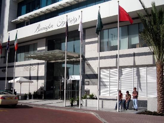 Bonnington Jumeirah Lakes Towers : Hotel Frontage