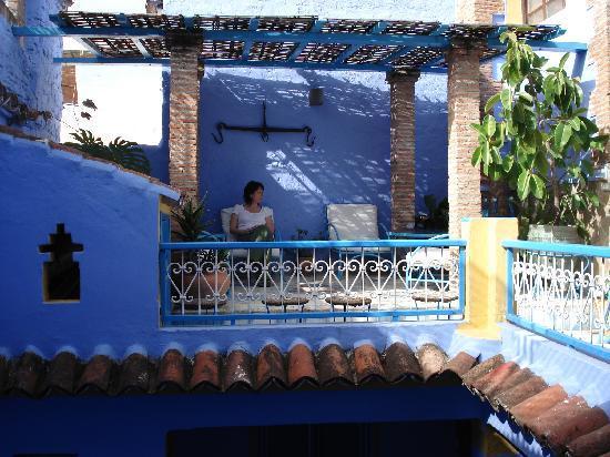 Hotel Dar Terrae: The balcony