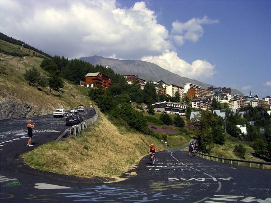L'Alpe-d'Huez, Francia: Alpe d`Huez