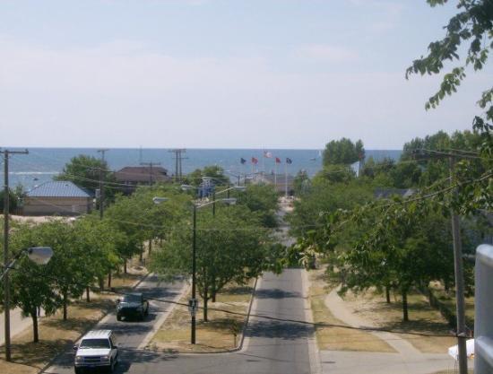Saint Joseph, MI: from the bluff in St. Joe