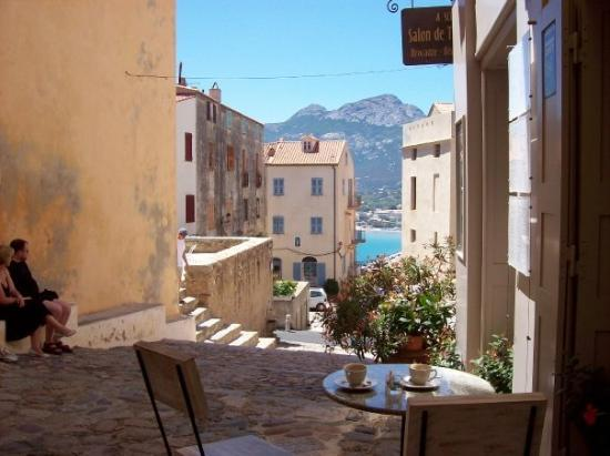 View from Citadel, Calvi