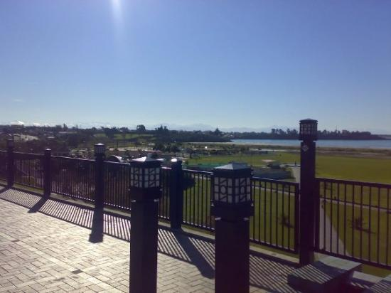 View from the Plaza, Timaru
