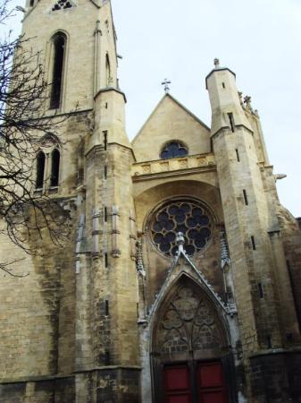 Aix-en-Provence, France : Eglise St Jean de Malte on my street