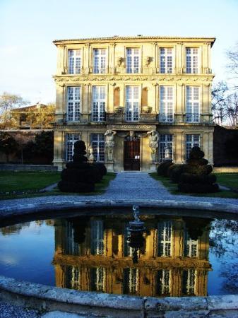 Aix-en-Provence, France : Pavillon et Jardin Vendome