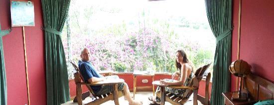 El Cafetal Inn: in our room