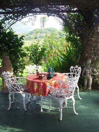 Atenas, Costa Rica: where we had breakfast; what a way to start the day!