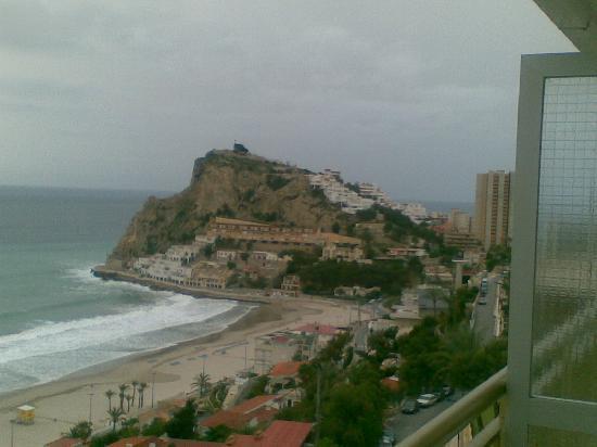 Servigroup Torre Dorada : vista desde la terraza hacia otro lado