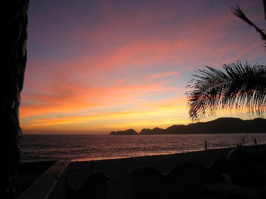 San Patricio, Meksiko: The Melaque bay sunset