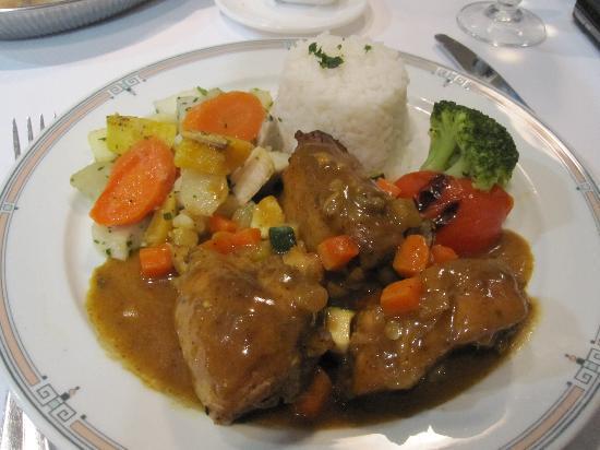 Schoelcher, Martinica: Dinner at Hotel Restaurant