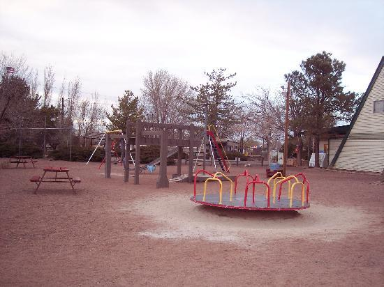 Holbrook / Petrified Forest KOA: Petrified Forest KOA playground
