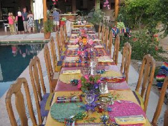 Los Barriles, Messico: beautiful set up for a birthday