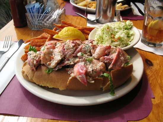Harwich, Μασαχουσέτη: A scrumptious lobster roll