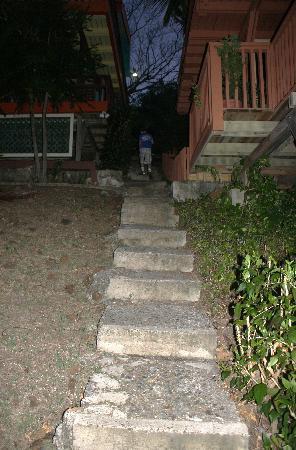 Culebra Island Villas: Cielo 5D - some of the steps