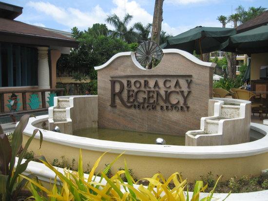 Boracay Regency Restaurant: See I really was there