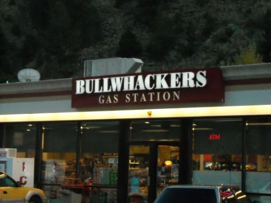 Black Hawk, CO: That's what it says...Bullwhackers!  Same name as the town down the road?