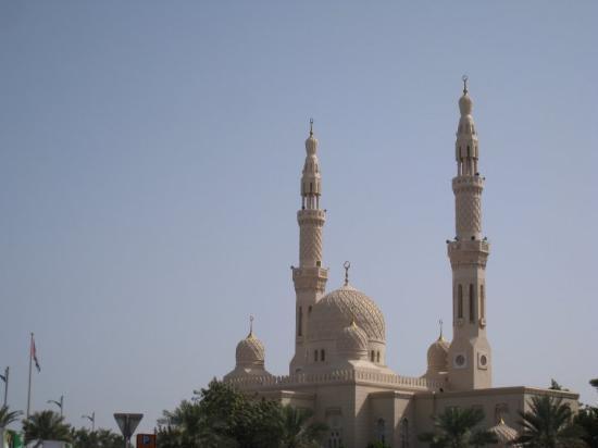 Bilde fra Jumeirah Moské