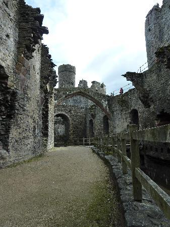 Conwy Castle: The great hall