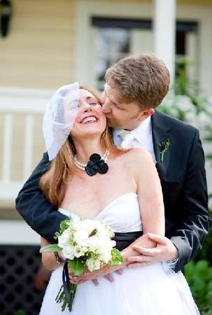 Farmhouse Inn & Restaurant: wedding photo - in front of Inn