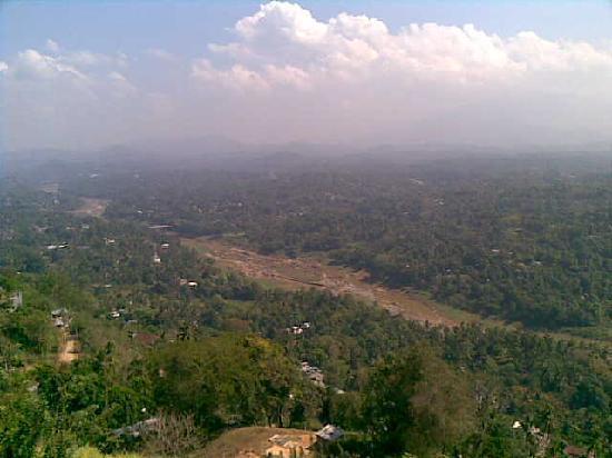 Kandy Panorama Resort: Aussicht vom Restaurant