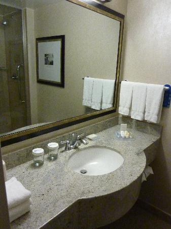 salle de bain: fotografía de Hilton Garden Inn New York/West 35th ...