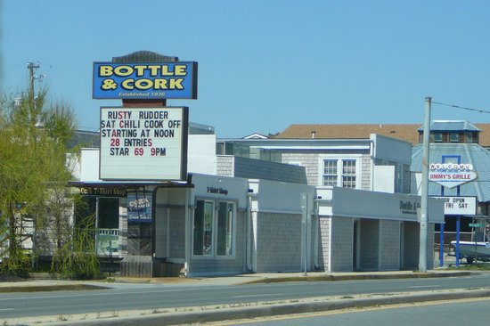 Dewey Beach, DE: Exterior of Bottle & Cork