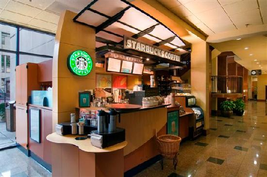 Hilton Knoxville: Downtown Knoxville's Only Starbucks, Located in our Lobby!