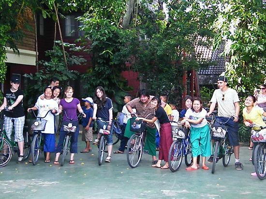 Joy's House: Mit dem Rad zum nahegelegenen Markt