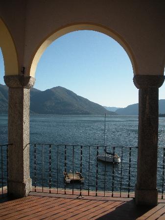 Casa Moscia: shared hotel terrace