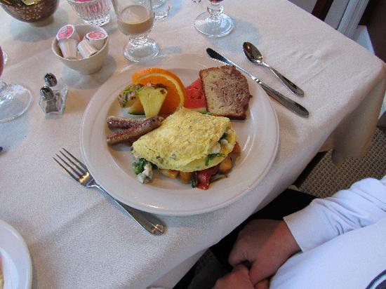 Blue Boar Inn : Equally Awesome Breakfast Omelette