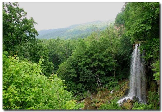 Virginia: FALLING SPRING, NORTH OF COVINGTON, VA ON US-220 IN SUMMER