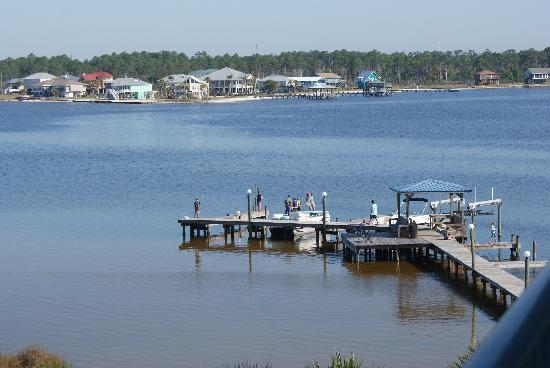 Gulf Shores Surf & Racquet Club: Dock